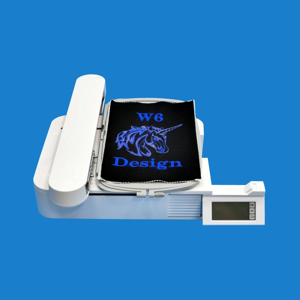 Help for the W6 EU7 embroidery unit (150 x 250 mm)